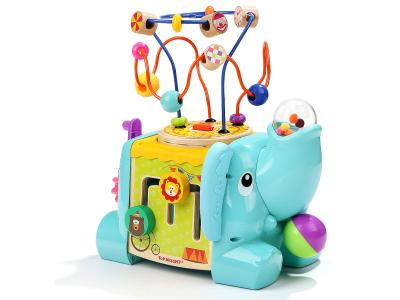 Bild zu Top Bright Elefant Activity Würfel mit Motorikschleife 5 in 1