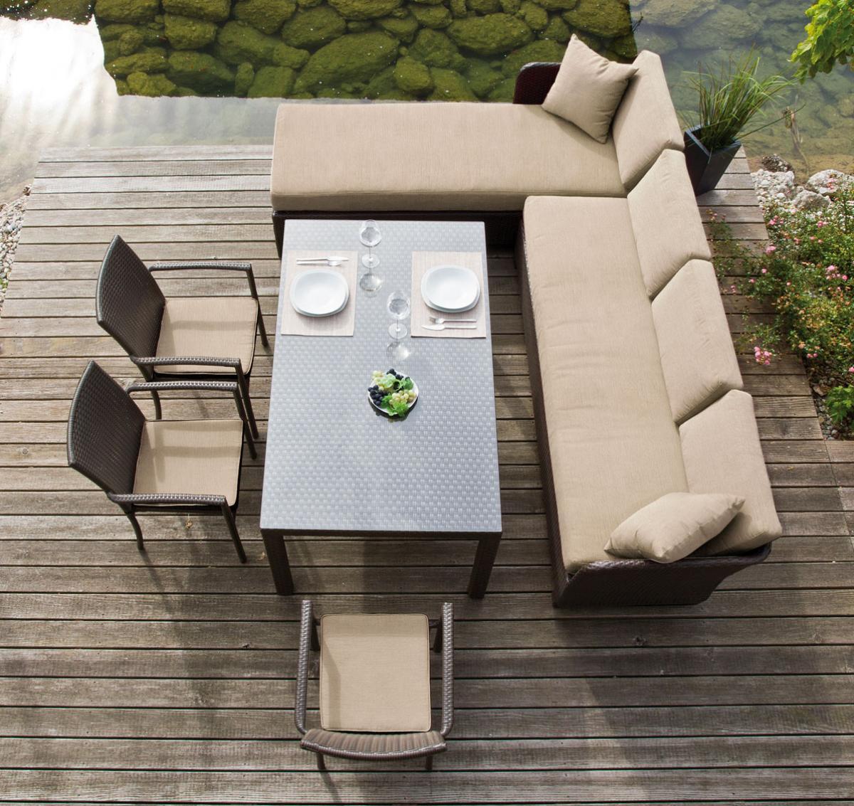 Preissturz Garten Sitzgruppe Mit Eckbank Lounge Esstisch