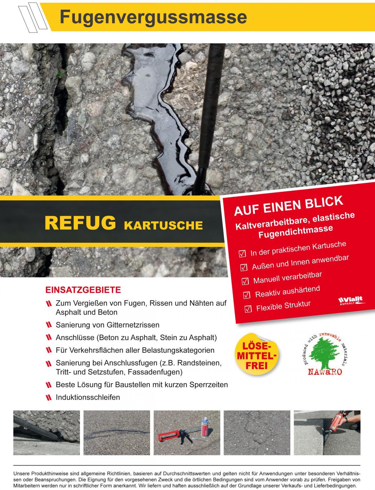 Hervorragend Preissturz » Vialit REFUG Fugen-Vergussmasse Fugendichtmasse UR94