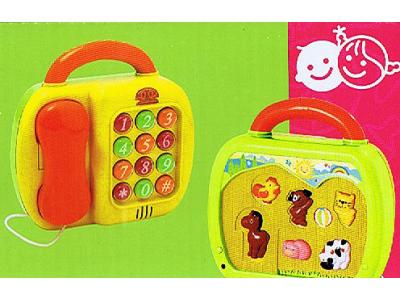 Bild zu Playgo 2in1 Kindertelefon & Tierstimmen Keyboard