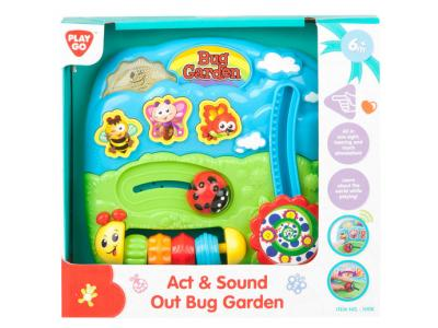 Bild zu Playgo Activity Board Garten Motorikbrett mit Sound ab 6 M