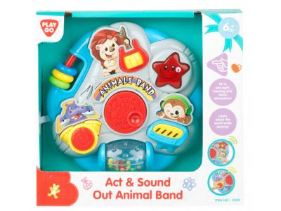 Bild zu Playgo Activity Board Musik Band Motorikbrett mit Sound ab 6 M