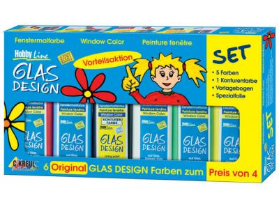 Bild zu Kreul Hobby Line Glas Design Window Color Aktionsset