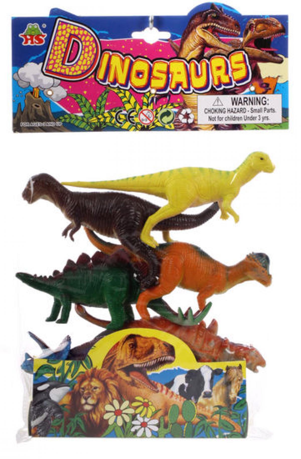 preissturz » 6 stück spielzeug dinosaurier trex dinos 18