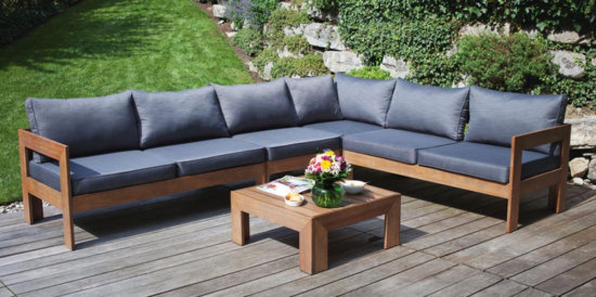 Gartenmobel Set Eukalyptusholz , Preissturz Sitzgruppe Woodbury Lounge Für Garten Oder Wintergarten