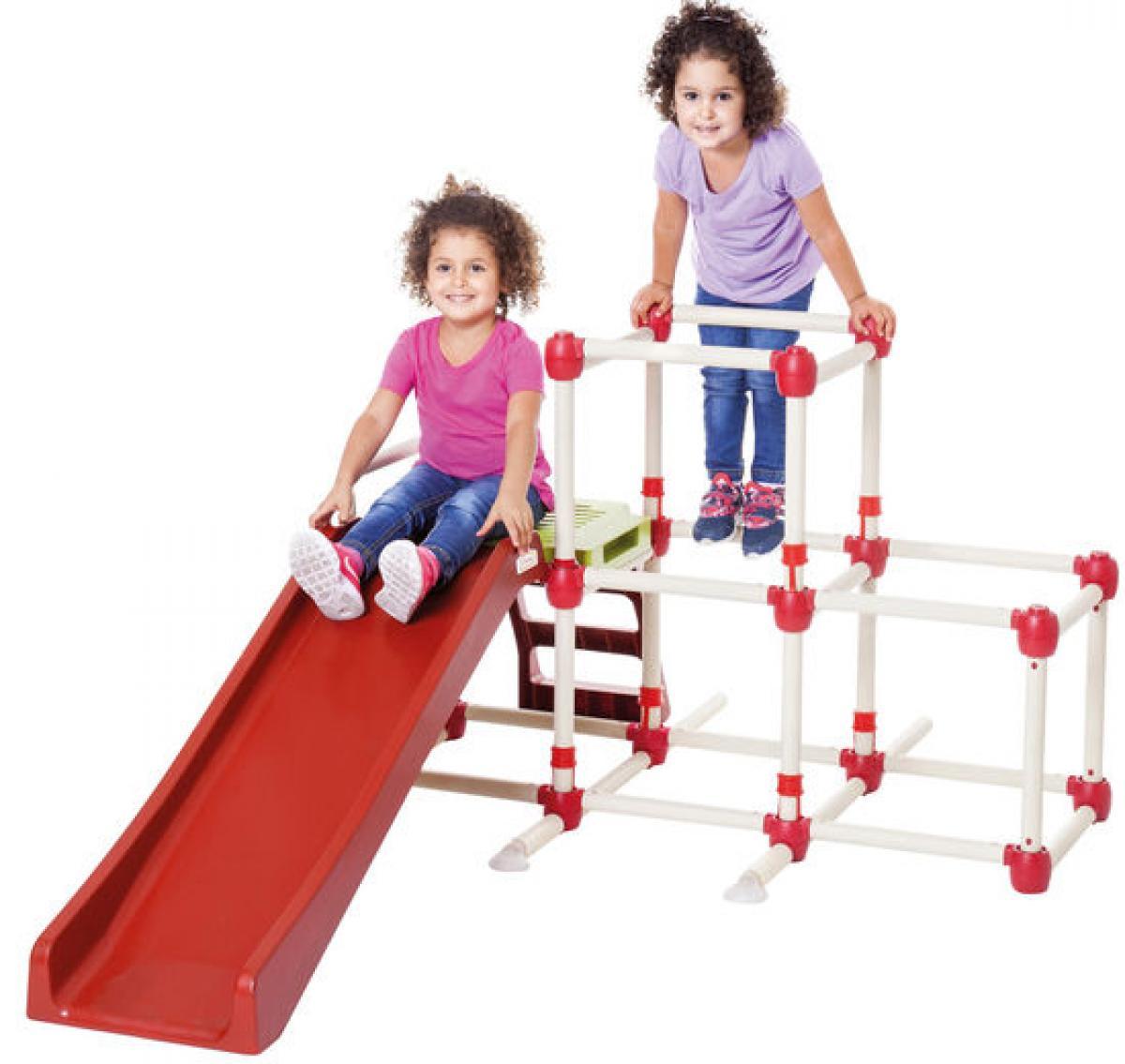 preissturz kletterger st spielturm mit rutsche climb slide lil monkey gutes g nstiger. Black Bedroom Furniture Sets. Home Design Ideas